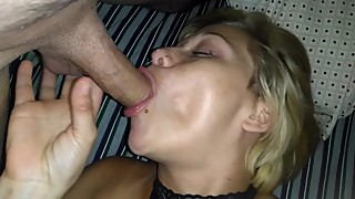 Hot girlfriend sucks her cucks tiny dick expressing her need for BBC