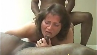 184-mature chubby wife try tow bbc cuckold