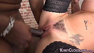 Cuckolding domina licked