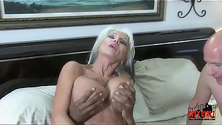 Mean BITCH HOTWIFE fucks BBC in front of her injured CUCK husband Sally D'_angelo