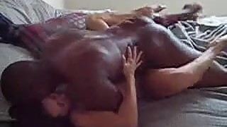 Black Stud Fucking Ex Cell Mates Wife