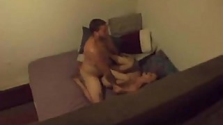 Teen fucked after bar with hidden camera