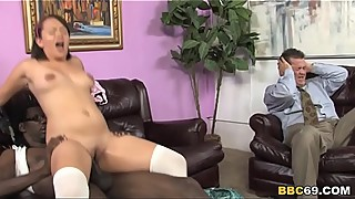 Callie Dee Has Leg Shaking Orgasm From A BBC