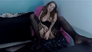 Perfect bbc cuckold Julia gets a loud moaning orgasm