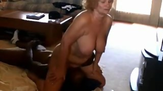 Cuckold Films his Mature Busty Wife Fucking BBC in California House