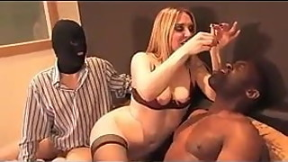 Bisex - Cuckold - BBC Sucks Cock and Swallows Cum