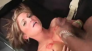 Huge Mouthful of Black Cum