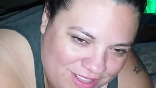 BBW wife talking about getting fucked by bbc