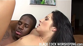 Big black cock gets my pussy so wet